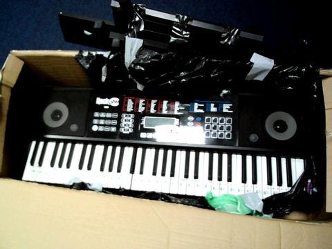 Lot 805 ROCKJAM RJ761-SK KEY ELECTRONIC INTERACTIVE TEACHING PIANO KEYBOARD