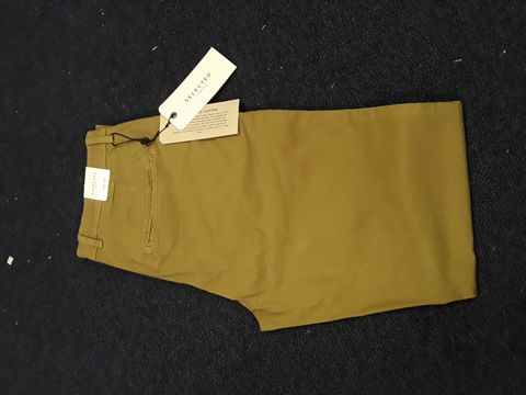 Lot 13046 SELECTED HOMME TROUSERS W31 L32