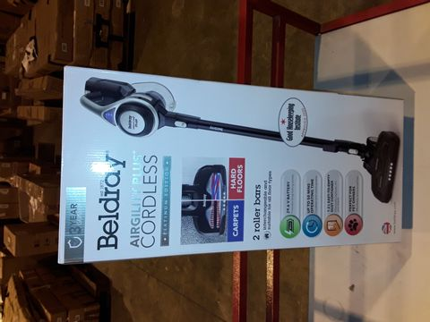 Lot 3264 BELDRAY AIRGILITY + CORDLESS VACUUM CLEANER