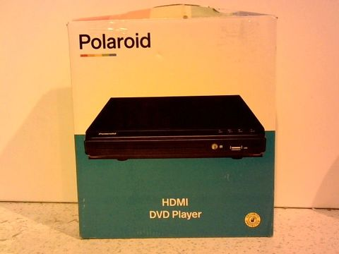 Lot 12280 POLAROID HDMI DVD PLAYER