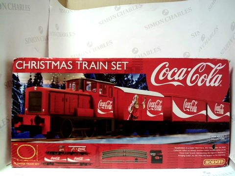 Lot 187 HORNBY CHRISTMASTRAIN SET