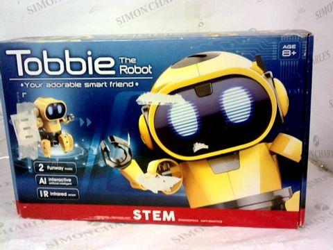 Lot 2841 Tobbie the robot