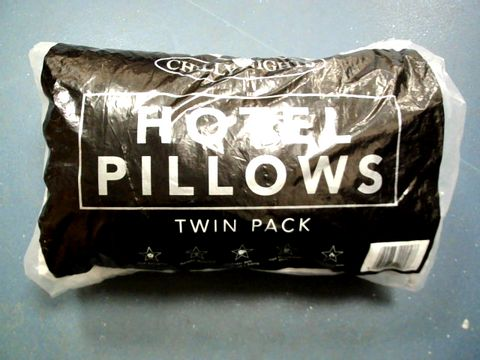 Lot 15194 CHILLY NIGHTS HOTEL PILLOWS TWIN PACK