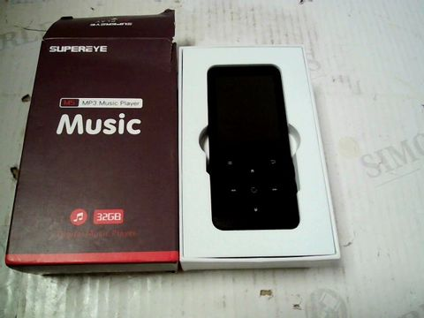 Lot 321 SUPEREYE M5 32GB MP3 MUSIC PLAYER