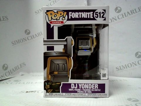 Lot 7313 FUNKO POP! FORTNITE DJ YONDER VINYL FIGURE