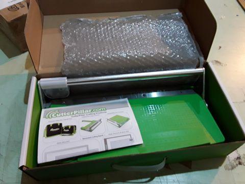 Lot 66 BOXED CUTTERPILLAR CRAFT PAPER TRIMMER