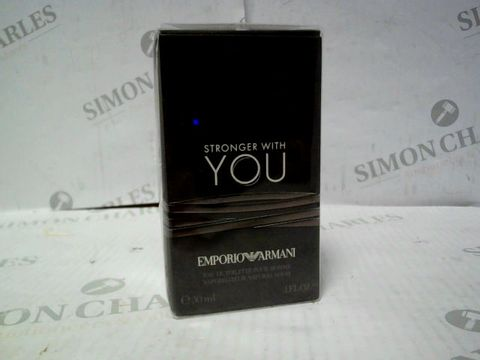 Lot 8072 EMPORIO ARMANI STRONG WITH YOU EDT 30ML