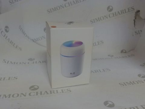 Lot 3595 H20 USB COLOURFUL HUMIDIFIER PEACH
