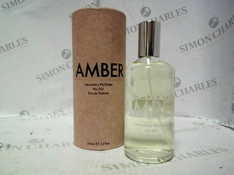 Lot 5094 LABORATORY PERFUMES AMBER EDT 100ML
