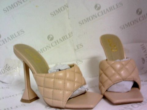Lot 1081 EGO BUTTER NUDE SANDALS SLIP ON HEELED SIZE 3