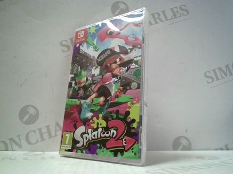 Lot 3272 SPLATOON 2 NINTENDO SWITCH GAME