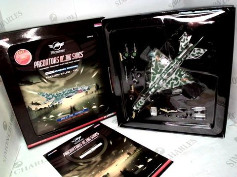 Lot 38 CORGI PREDATORS OF THE SKIES SERIES 2 DEFINING MISSIONS PHANTOM KILLERS 1972 MIG-21 PFM - FISHBED F