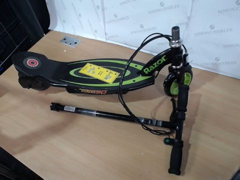 Lot 1061 RAZOR POWERCORE E90 GREEN SCOOTER RRP £250.00