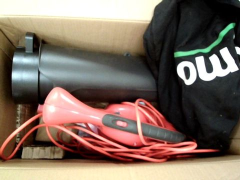 Lot 11072 FLYMO POWERVAC 3000V ELECTRIC BLOWER