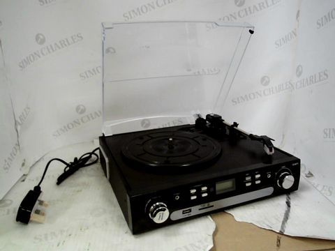 Lot 15284 DIGITNOW! BLUETOOTH RECORD PLAYER WITH STEREO SPEAKERS
