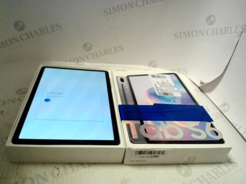 Lot 9100 SAMSUNG GALAXY TAB S6 256GB ANDROID TABLET