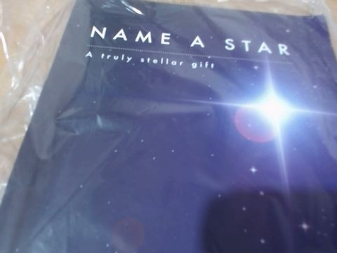 Lot 687 NAME A STAR GIFT X1 RRP £20.00