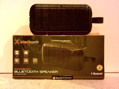 Lot 1230 BLACKWEB SOUNDBLOCK BLUETOOTH SPEAKER
