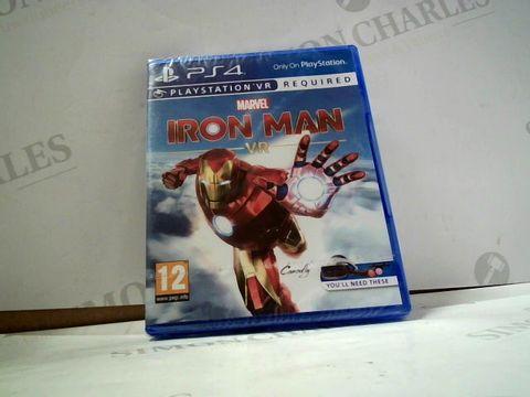 Lot 8011 MARVEL IRON MAN VR  PLAYSTATION 4 GAME