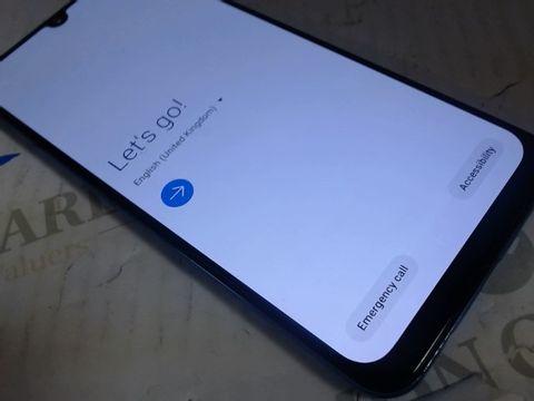 Lot 7596 SAMSUNG GALAXY A50 MOBILE PHONE BLUE