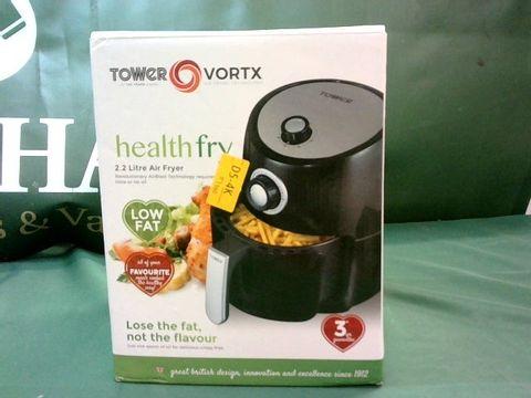 Lot 9043 TOWER HEALTH FRY 2.2 LITRE AIR FRYER