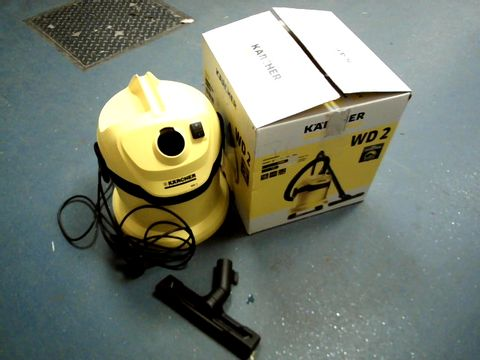 Lot 15472 KARCHER WD 2 MULTI-PURPOSE VACUUM CLEANER
