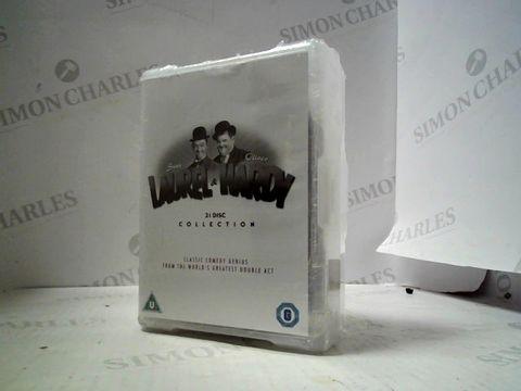 Lot 3103 LAUREL & HARDY 21 DVD BOX SET COLLECTION