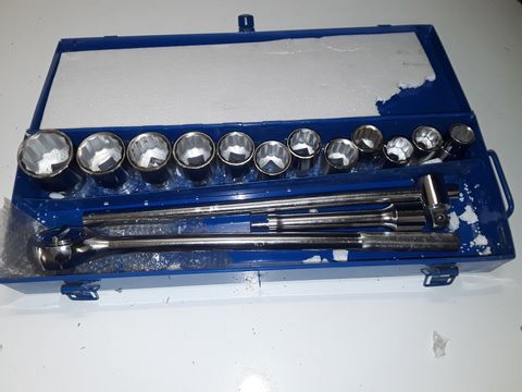 Lot 5122 SILVERLINE TOOLS 652142 SOCKET SET 3/4-INCH SET