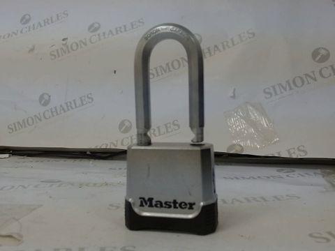 Lot 496 MASTER LOCK HEAVY DUTY PADLOCK