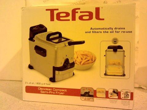 Lot 161 TEFAL OLEOCLEAN COMPACT DEEP FAT FRYER