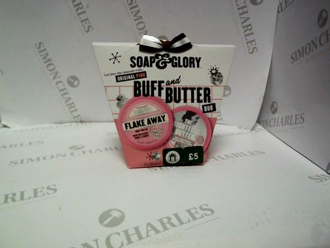 Lot 9159 SOAP & GLORY BUFF AND BUTTER DUO