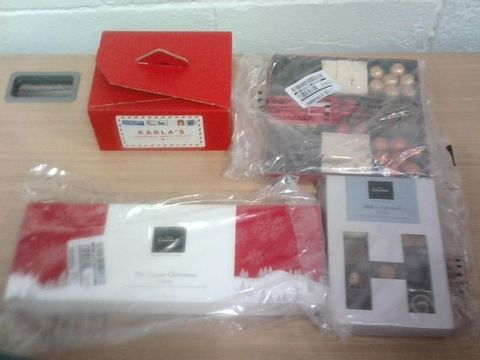 Lot 21 BOX OF ASSORTED CONFECTIONARY ITEMS - HOTEL CHOCOLAT, PERSONALISED SWEET COLLECTION, RITE FAHRI