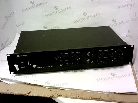 Lot 13280 ADASTRA DUAL STEREO PA AMPLIFIER