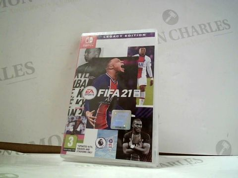 Lot 8152 EA SPORTS FIFA 21: LEGACY EDITION NINTENDO SWITCH GAME