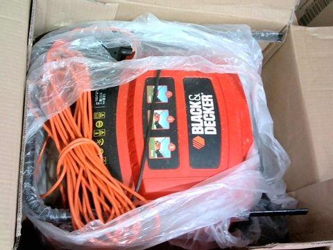 Lot 2853 BLACK + DECKER GD300 30 CM LAWNRAKER