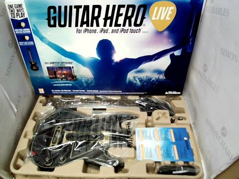 Lot 20 GUITAR HERO LIVE VIDEO GAME FOR IPHONE, IPAD, IPOD TOUCH