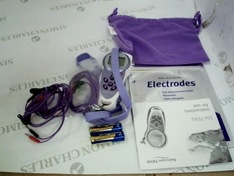 Lot 12746 ELLE TENS WITH OPTI MAX DRUG FREE PAIN RELIEF FOR LABOUR AND BEYOND TECHNOLOGY