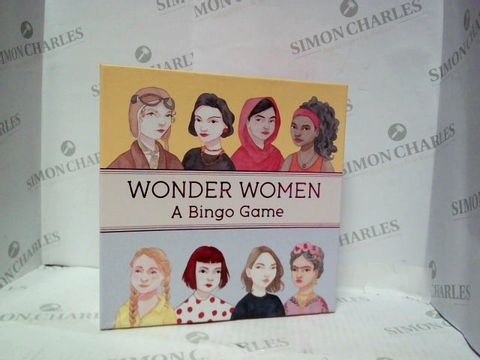 Lot 55 WONDER WOMEN A BINGO GAME