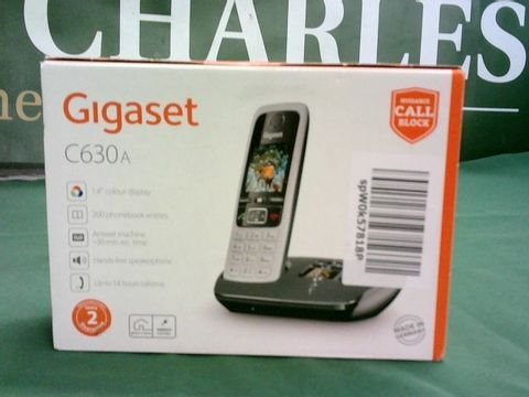 Lot 1086 GIGASET C630A WIRELESS HOME PHONE WITH CHARGING STATION