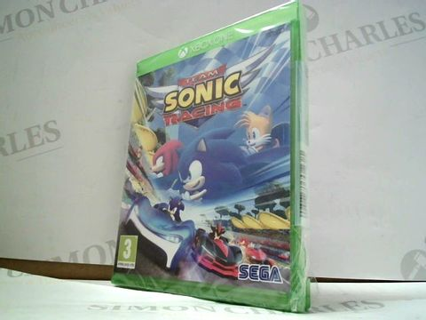 Lot 4128 TEAM SONIC RACING FO XBOX ONE  RRP £40.00