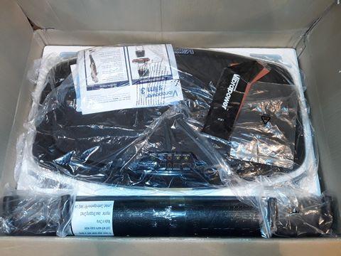 Lot 1107 VIBRAPOWER SLIM 3 WITH EQUIPMENT MAT - BLACK