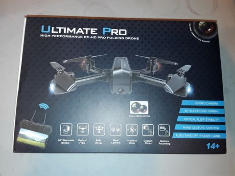 Lot 1085 ULTIMATE PRO HIGH PERFORMANCE FOLDING DRONE
