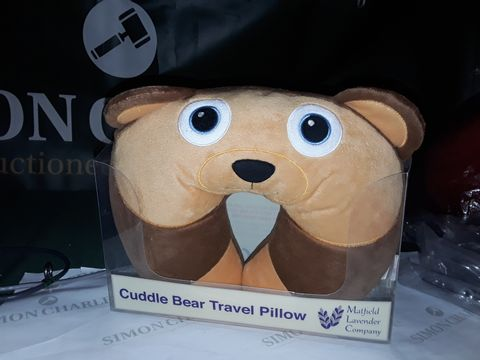 Lot 8211 CUDDLE BEAR TRAVEL PILLOW