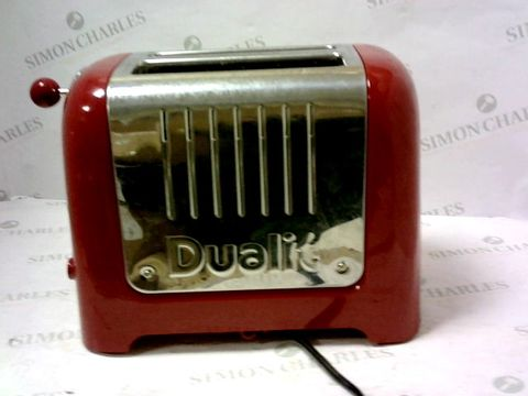 Lot 11225 DUALIT 2 SLICE LITE TOASTER