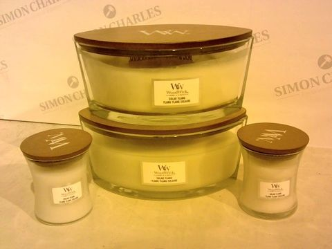 Lot 2202 BOXED SET OF 4 WOODWICK CANDLES