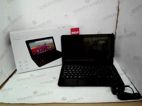 Lot 12497 RCA MAVEN 11 PRO 11.6 INCH 32GB ANDROID TABLET WITH DETACHABLE KEYBOARD - BLACK