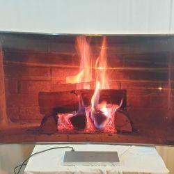 Lot 1002 SAMSUNG UE65JS9000 65 INCH CURVED 4K ULTRA HD 3D SMART LED TV