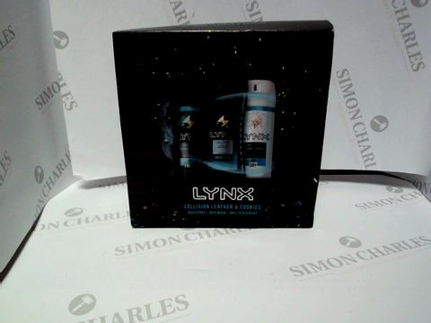 Lot 9143 LYNX COLLISION LEATHER AND COOKIES BOX SET