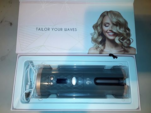 Lot 10267 OPTI-BEAUTY TAILOR WAVE CORDLESS HAIR CURLER