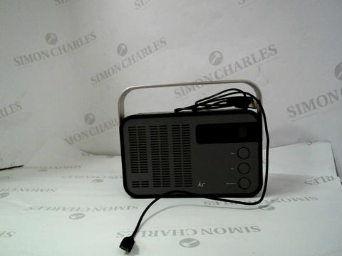 Lot 12370 KS DAB + / FM WIRELESS PORTABLE RADIO WITH BLUETOOTH AND ALARM FUNCTION